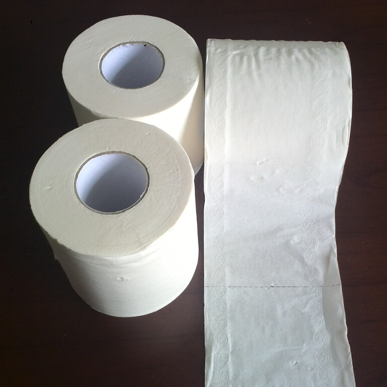 Hotel Style Toilet Paper-2Ply 400sheets -48rolls
