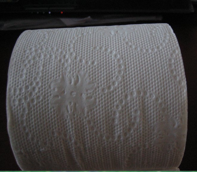 TOILET PAPER 100% RECYCLED 1PLY 1000SH