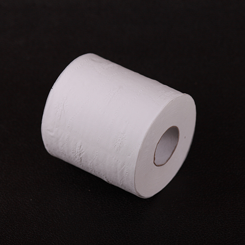 White 1-Ply Bathroom Tissue